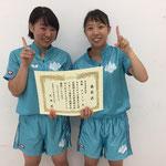 女子団体B優勝 筑波大学