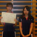 女子団体B優勝 富山大学