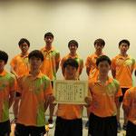 男子団体3位:愛媛大学