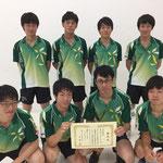 男子団体3位 神戸大学