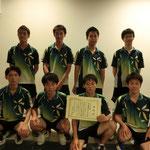 男子団体準優勝:神戸大学