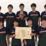 男子団体優勝 高知工科大学
