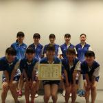 女子団体A3位:大阪大学