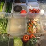 冷蔵庫野菜室収納