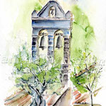 Campanile (11) / Watercolour 24x32cm  ©janinaB.