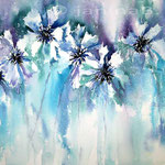 Kornblumen I_2014 (14) / Watercolour 30x40cm