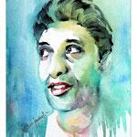 John Rajesh (O2) / Watercolour 17x24cm