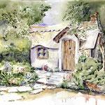 Landscape VI 2010 (12) / Watercolour 30x40cm © janinaB.
