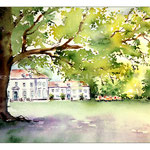 Wilhelm Bush Museum in Hannover(2) / Watercolour 20x31cm