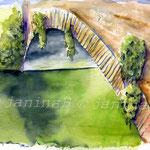 Brücke (11) / Watercolour 24x32cm  ©janinaB.