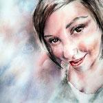 Anne (7) / Aquarell auf Arches 30x40cm