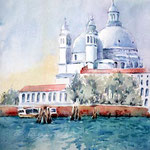 Venice I (O6) / Watercolour 17x24cm Lukas CP © janinaB. 2016
