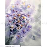 Flowers IX 2017 (20) / Watercolour 30x40cm ©janinaB.2017