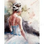 Ballerina I 2017 (O5) / Watercolour 21x31cm ©janinaB.2017