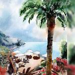 Ravello I 2018 (21) / 30x40cm Watercolour by ©janinaB.