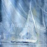 vom Wind erfasst (12) / Watercolour 24x34cm  ©janinaB.