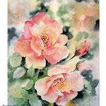 Roses XIV 2018 / 30x40cm (22) / Watercolour by ©janinaB.