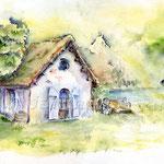 Hütte-(12) / Watercolour 24x34cm © janinaB.