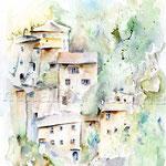 Sorano (10) / Watercolour 24x32cm  ©janinaB.