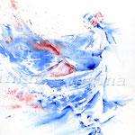 Flamenco I (16) / Watercolour 24x34cm