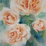 Rosen XV (8) / Aquarell 23x31cm © janinaB.