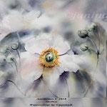 Anemones V 2018 / 30x40cm (22) / Watercolour by ©janinaB.