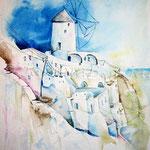 Santorini (2) / Watercolour 30x40cm  ©janinaB.