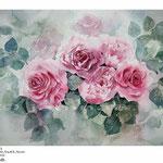 Rosen XXII (T3) / Aquarell 30,5x45,5cm  © janinaB.