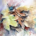 Laubhaufen (19) / Watercolour 26x35cm