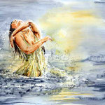 Badenixe-(13) / Watercolour  30x40cm