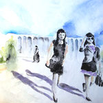 Kyrgyz (O1) / Watercolour 16x24cm