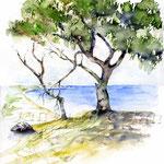 Landscape IX 2010 (19) / Watercolour 30x40cm © janinaB.