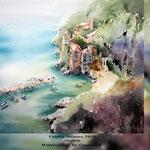 Vettica Minore 2018 / 30x40cm Watercolour by ©janinaB.