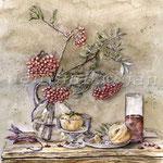 Stillleben-herbstlich-(4) / Watercolour 30x40cm