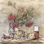Stillleben-herbstlich-(7) / Watercolour 30x40cm