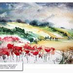 Landscape XXIV 2017 (24) / Watercolour 30x40cm © janinaB. 2017