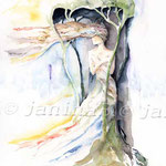 Moi (7) / Watercolour  30x40cm