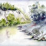 Landscape VIII 2010 (24) / Watercolour 24x32cm © janinaB.