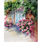 Garden door I 2018 (24) / 30x40cm Watercolour by ©janinaB.