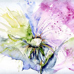 Flower I 2010 (8) / Watercolour 24x32cm  © janinaB.