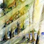 Sonnenstrahlen (O2) / Watercolour 18x25cm © janinaB.