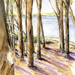 Landscape I 2009 (2) / Watercolour 30x40cm  ©janinaB.