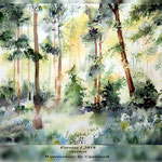 Forrest I 2018 (24) / 30x40cm Watercolour by ©janinaB.