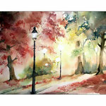 im Park (11) / Watercolour 30x40cm