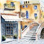 Venedig I 2009 (6) / Watercolour 24x32cm  ©janinaB.