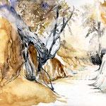 urwüchsig (12) / Watercolour 30x40cm  ©janinaB.