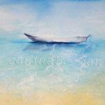 Sea of light (6) / Watercolour 24x34cm  ©janinaB.