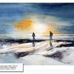 Landscape XXV 2017 / Watercolour 30x40cm ©janinaB.2017
