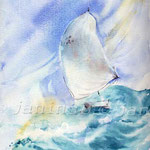 Sturm III (O1) / Watercolour 17x24cm  ©janinaB.