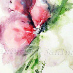 Blume_abstrakt (O1) / Watercolour 18x24cm